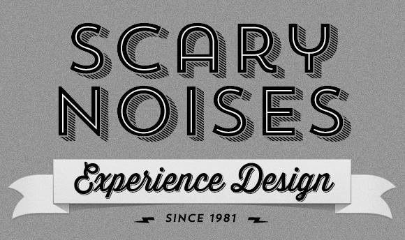 Scary Noises vintage logo
